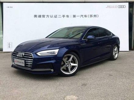 �W迪A5 2017款 Sportback 40 TFSI �r尚型