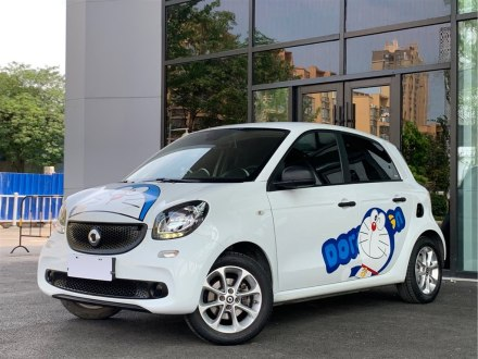smart forfour 2016款 1.0L 52千瓦�`�影�