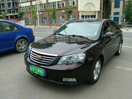经典帝豪 2012款 三厢 1.8L 手动豪华型