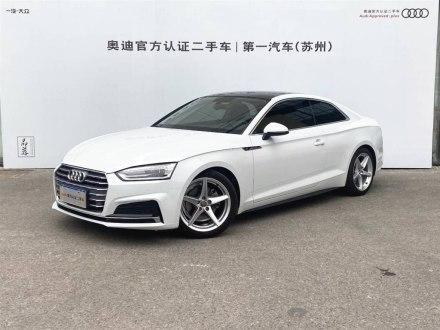 �W迪A5 2017款 Coupe 40 TFSI �r尚型