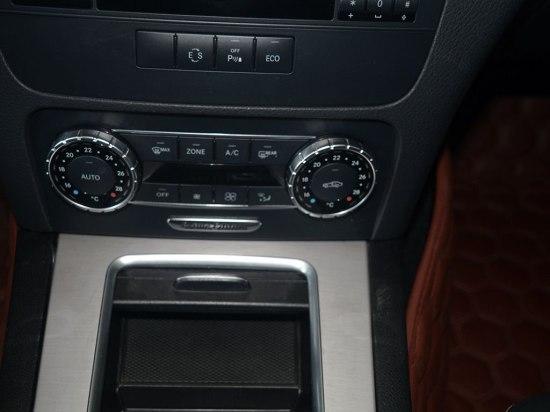 奔驰车内空调按键图解