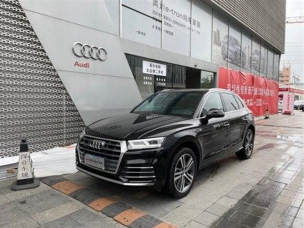 深圳二手�W迪Q5L 2020款 40 TFSI �s享�r尚型
