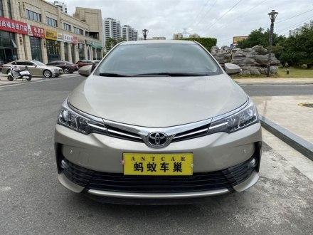 卡罗拉 2018款 1.2T S-CVT GL-i智辉版