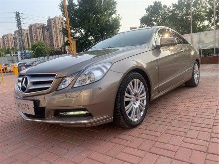 奔�YE�(�M口) 2010款 E 260 CGI Coupe