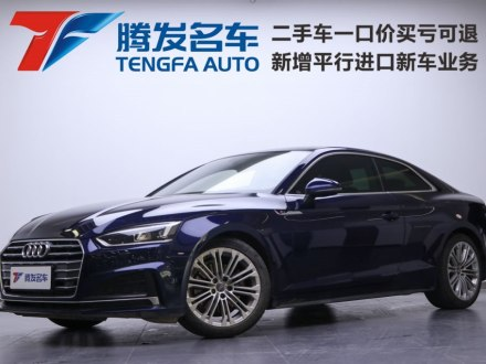 �W迪A5 2019款 Coupe 40 TFSI �r尚型