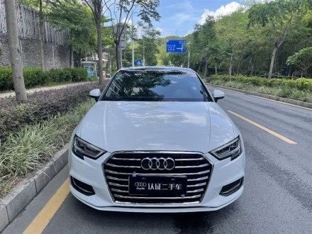 深圳二手�W迪A3 2019款 Limousine 35 TFSI �L尚型 ��V