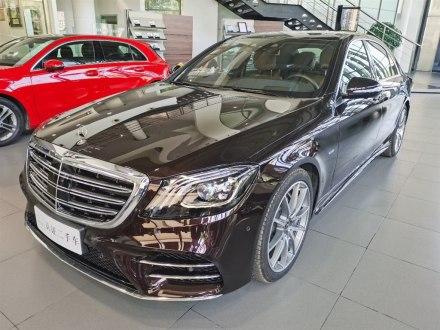 奔驰S级 2019款 S 450 L 4MATIC 臻藏版