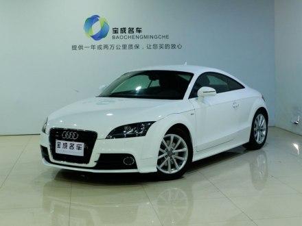奥迪TT 2013款 TT Coupe 45 TFSI 白色经典版