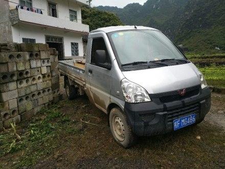 五菱荣光小卡 2012款 1.5L单排基本型L3C