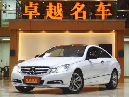 奔驰E级(进口) 2009款 E 350 Coupe