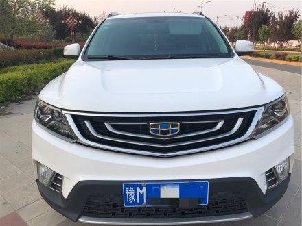 远景SUV 2016款 1.8L 手动豪华型