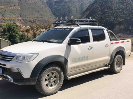 猎豹CT7 2018款 1.9T柴油四驱卓越型标双版D19TCIE