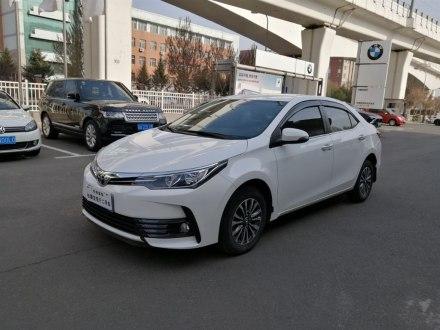 卡罗拉 2017款 改款 1.2T S-CVT GL-i真皮版