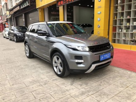 揽胜极光(进口) 2013款 2.2T 5门柴油版