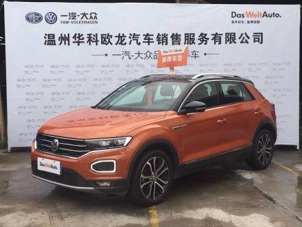 T-ROC探歌 2018款 280TSI DSG四驱舒适型 国V