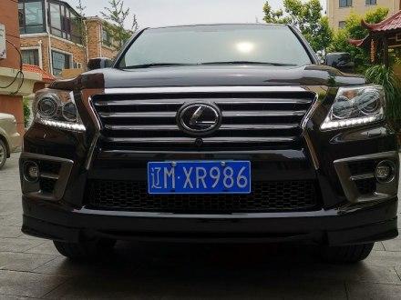 雷克萨斯LX 2015款 LX570 中东版
