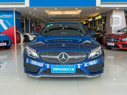 奔驰C级(进口) 2018款 C 200 轿跑车
