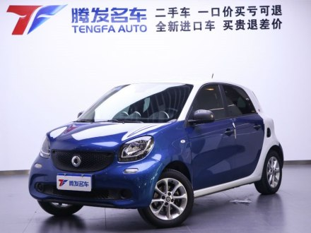 smart forfour 2018款 1.0L 52千瓦�`�影�
