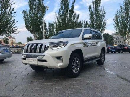 普拉多 2018款 3.5L 自动TX-L NAVI后挂备胎