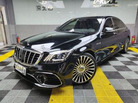 奔�YS� 2018款 S 450 L 4MATIC