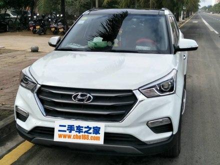 北京现代ix25 2017款 1.6L 自动智能型