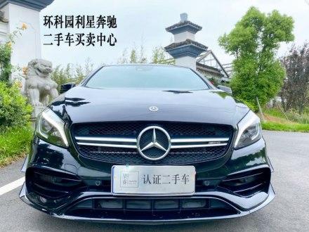 奔�YA�AMG(�M口) 2018款 AMG A 45 4MATIC 臻藏版