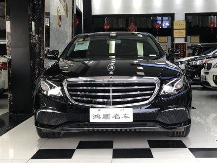 奔驰E级 2018款 改款 E 300 L 豪华型