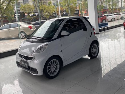 smart fortwo 2012款 1.0 MHD 硬�舒�m版