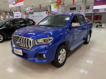 上汽大通T60 2017款 2.8T柴油自动四驱高底盘旗舰型大双排国V