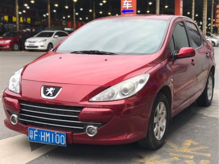 标致307 2010款 三厢 1.6L 自动舒适版