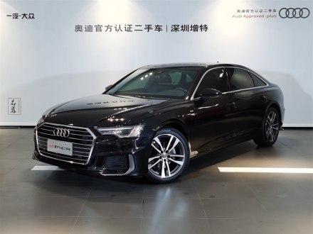 深圳二手�W迪A6L 2019款 40 TFSI 豪�A�痈行�