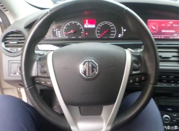 4月,名爵mg6,1.8t自动掀背,天窗,真皮座椅,多功能方向盘,才行驶4.