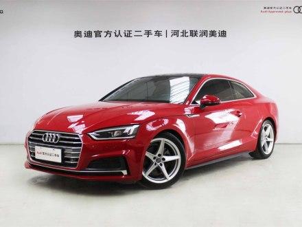 奥迪A5 2019款 Coupe 40 TFSI 时尚型 国V