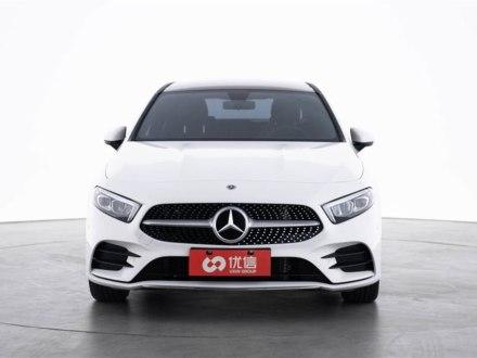 陕西二手奔驰A级 2020款 改款 A 200 L 运动轿车时尚型