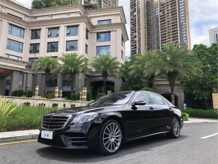 深圳二手奔驰S级 2019款 S 450 L 4MATIC 臻藏版