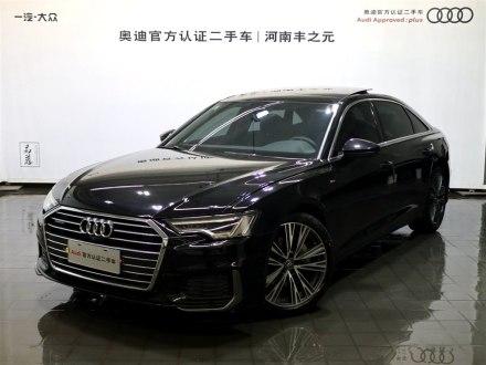 河南二手奥迪A6L 2019款 45 TFSI quattro 臻选动感型