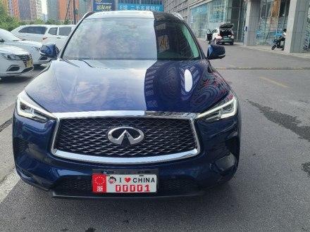 杭州二手英菲尼迪QX50 2020款 2.0T 四驱菁英版