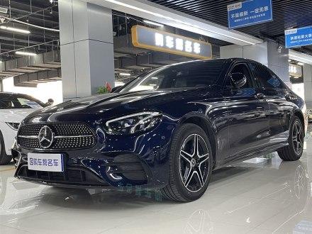 郑州二手奔驰E级(进口) 2021款 E 260 时尚型运动版