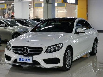 郑州二手奔驰C级 2016款 C 200 L 运动型