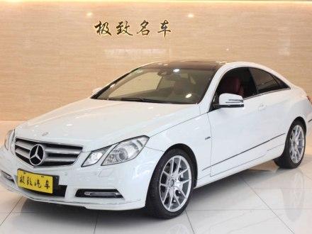 奔驰E级(进口) 2011款 E 260 CGI Coupe