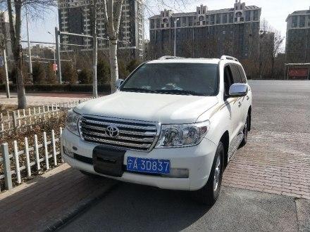 兰德酷路泽(进口) 2012款 中东版
