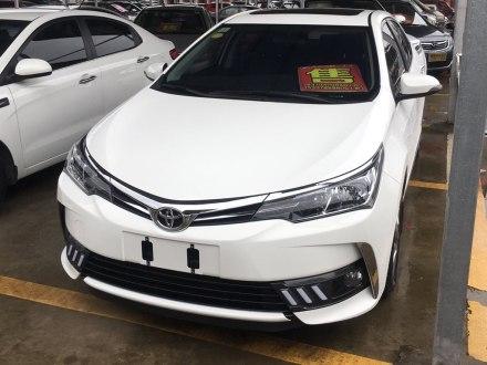 卡罗拉 2017款 1.2T CVT GL-i真皮版